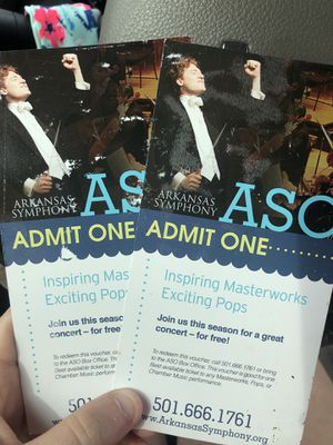 Aso tickets for Sale in Cabot, AR