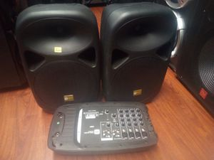 10 inch speaker with amp for Sale in Fontana, CA