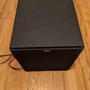 "Energy (by Klipsch) Power12 Sub 12"" 150W Front-Firing Rear Ported Subwoofer (Black) for Sale in Issaquah, WA"
