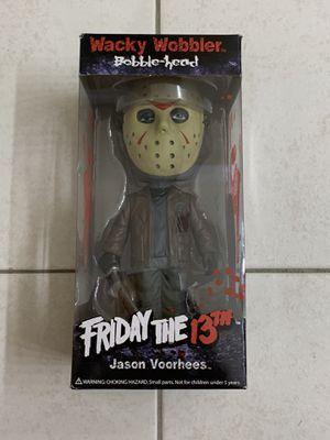 Funko Friday The 13th Jason Voorhees Wacky Wobbler for Sale in Miramar, FL