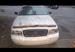 2002 crown Victoria p71 no title, blown engine, new tires, tinted windows new passnager catalytic converters. Project car or buy for parts for Sale in Murfreesboro, TN