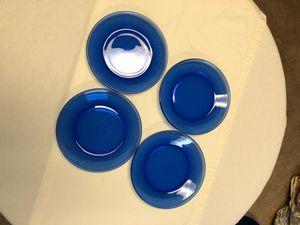 """7"""" Cobalt blue salad plate. for Sale in Williamsburg, MI"""