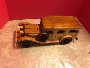 Toy collectible wood wagon for Sale in Baldwin, NY