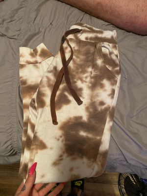 Bleach dyed sweat pants for Sale in Brownstown Charter Township, MI