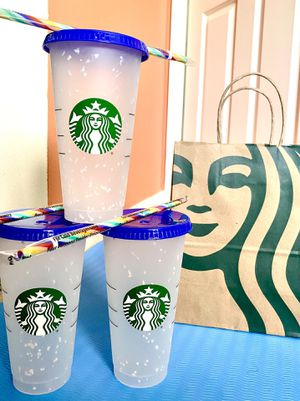 🌈Starbucks Color Changing Confetti Cup 2020🌈 for Sale in Lakewood, WA