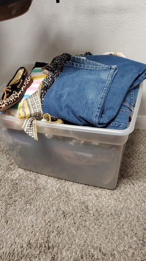 Mix clothes jeans shoes hand bags for Sale in Houston, TX