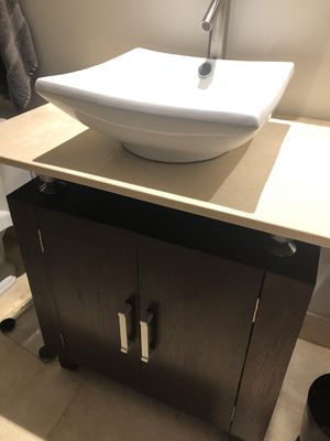 Bathroom vanity two matching set for Sale in Miami, FL
