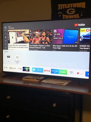 "50"" 4K uhd Samsung smart tv for Sale in Eau Claire, WI"