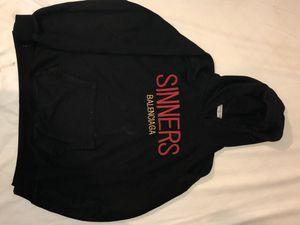 Balenciaga sinners hoodie size Medium for Sale in Brooklyn, NY
