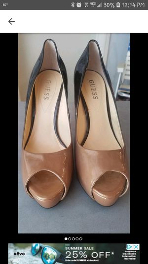Guess Brown/Gold Ombre Heels size 8 for Sale in Nashville, TN
