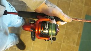 Fishing pole + lures + line for Sale in West Richland, WA