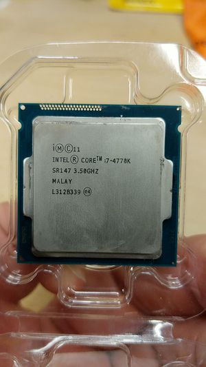 Intel I7-4770K CPU for Sale in Vancouver, WA