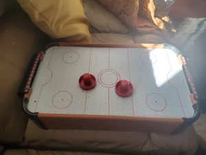 Free mini airhockey, missing disk for Sale in Wheaton, IL