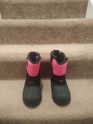 Girls snow boots size 1 youth for Sale in Aurora, CO