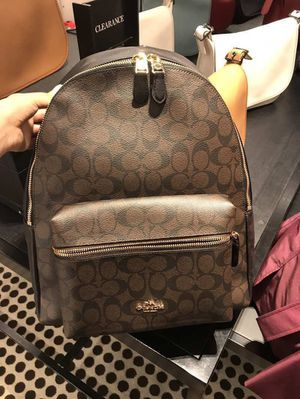 Coach large size signature logo backpacks for Sale in Temple City, CA