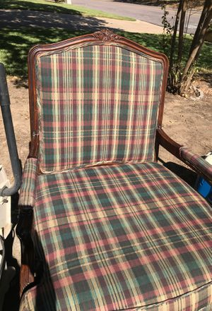 Over sized antique chair 60 obo for Sale in Bedford, TX