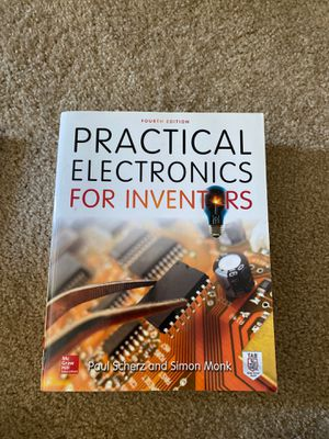 Book Practical Electronics for inventors for Sale in Austin, TX