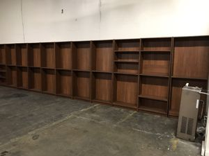 15+ bookshelves for sale for Sale in Redwood City, CA