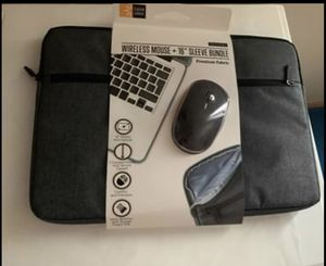 New laptop case and wireless mouse for Sale in Lincoln, NE