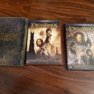 Lord Of The Rings DVD Collection for Sale in La Mirada, CA