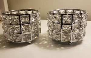 New crystal candle holder set for Sale in Los Angeles, CA