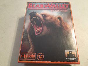 Bear Valley Board Game (NIS) for Sale in Trenton, NJ