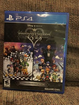 Kingdom Hearts HD 1.5 + 2.5 ReMIX PS4 for Sale in Chicago, IL