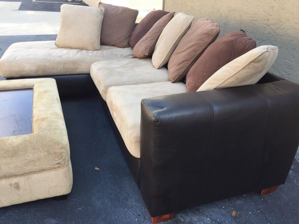 Kevin Charles L Shaped Couch Sectional Sofa For Sale In
