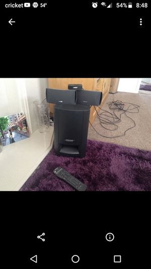 Bose home theater system for Sale in Tulare, CA