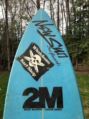 Surfboard Mickey McCarthy 2M classic for Sale in Holly Springs, NC