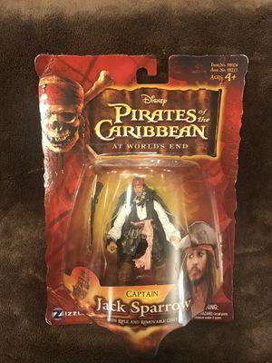 2007 Zizzle Pirates of the Caribbean Jack Sparrow Action Figure for Sale in Surprise, AZ