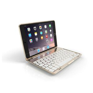 Ipad Mini Aluminum Backlight Bluetooth Keyboard Case - Silver Gray for iPad Mini4 for Sale in Ontario, CA