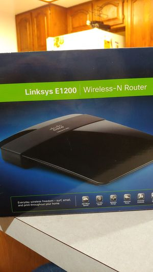 Linksys E1200 Wireless-N Router for Sale in Portland, OR