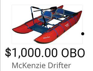 McKenzie 2 Man Pontoon Drift Boat for Sale in Sacramento, CA
