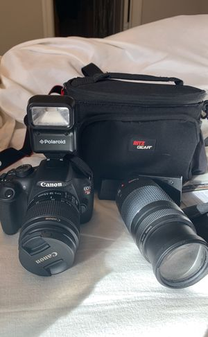 Canon Rebel T5 camera for Sale in Lynchburg, VA