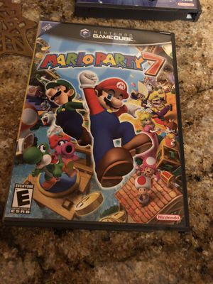 Nintendo GameCube Mario games. Part 4, 5 and 7 for Sale in Germantown, MD