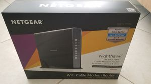 Netgear cable modem/wifi for Xfinity/Comcast for Sale in Coral Springs, FL