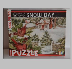 Susan Winget Snow Day 1000 Piece Puzzle by Go! Games New Sealed UP for sale is Susan Winget Snow Day 1000 Piece Puzzle by Go! Games. New Sealed. for Sale in San Jose, CA