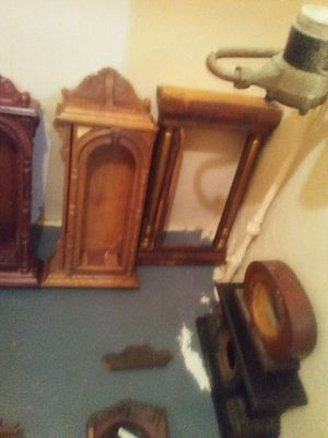 Antique clock cases for Sale in Englewood, CO