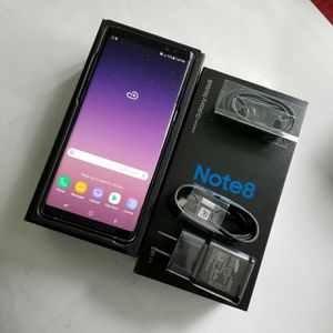 Samsung Galaxy Note 8, Factory Unlocked for Sale in Springfield, VA