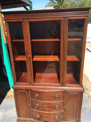 Antique China Cabinet for Sale in Las Vegas, NV