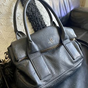 black leather kate spade purse for Sale in Chandler, AZ