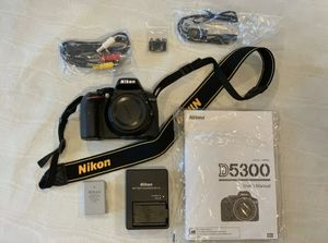 Nikon D5300 (with lens) for Sale in Arlington, VA