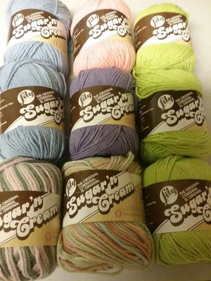 Yarn. 100% cotton. Smoke and pet free home. 9 skeins. Never used for Sale in Tacoma, WA
