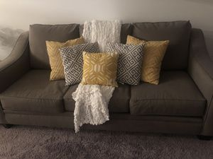 Couch Grey for Sale in LAUD BY SEA, FL