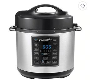 Crock-Pot Express Crock Multi-Cooker in Stainless Steel 6Qt. for Sale in Springfield, OH