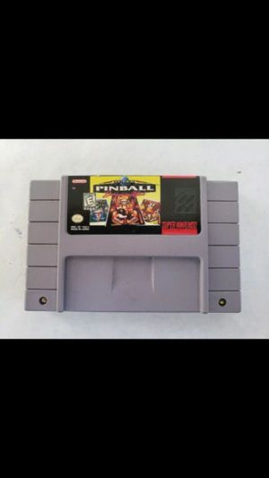 Super Pinball: Behind the Mask SNES Game for Sale in New York, NY