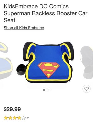 New, in box. Superman booster seat. for Sale in Morrisville, PA