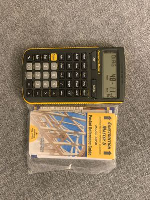 Construction Master 5 Model 4050 calculator for Sale in The Colony, TX
