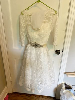 Custom-Made Tea Length Wedding Dress - Size 10 for Sale in Goodlettsville, TN